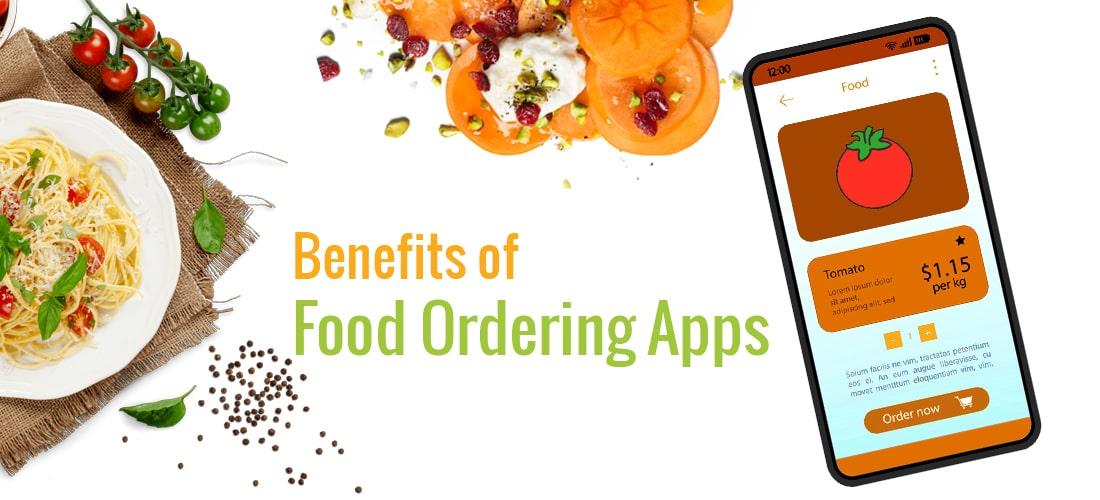 benefits of food ordering app development for restaurant