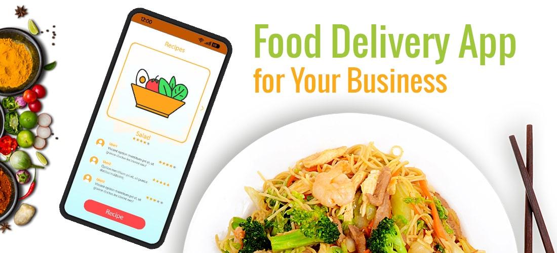 food delivery app for restaurants