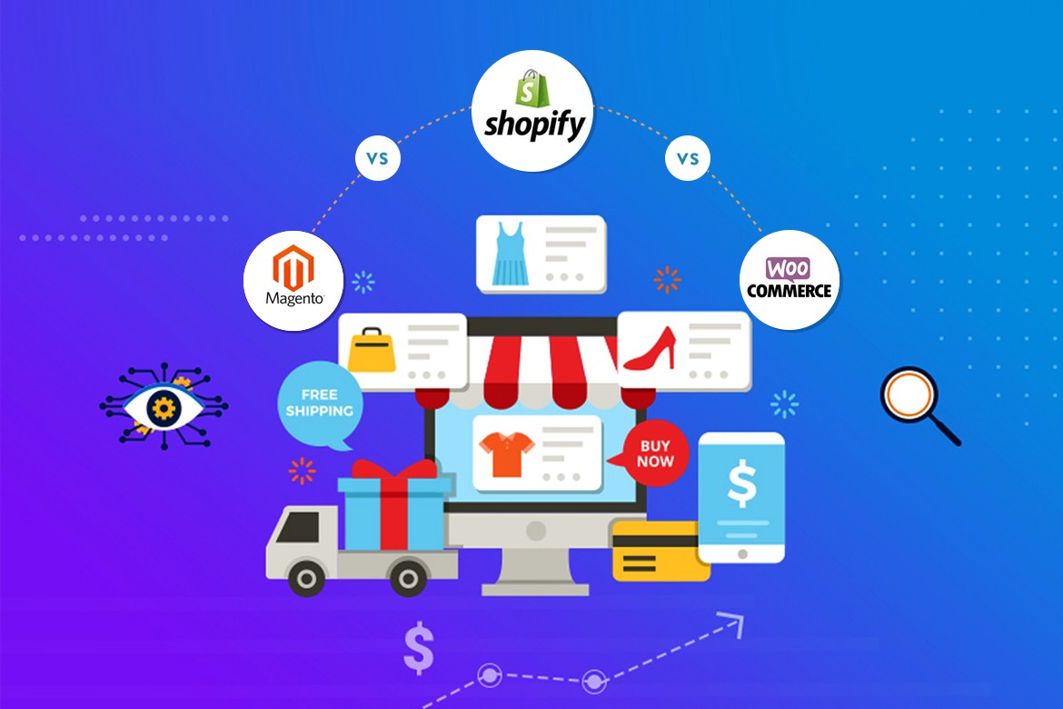Why is Magento Better than Shopify and Woocommerce
