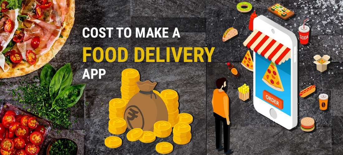 Cost to make a food Delivery App in India