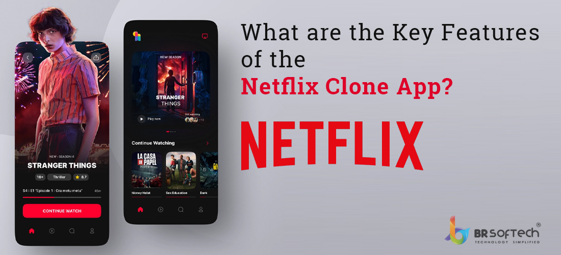 Netflix-Clone features