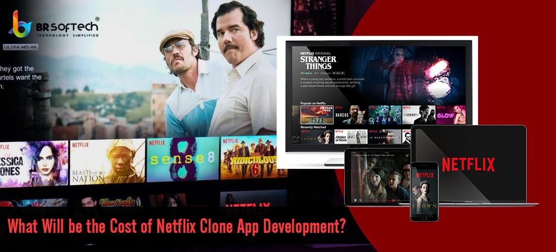 Netflix clone application development