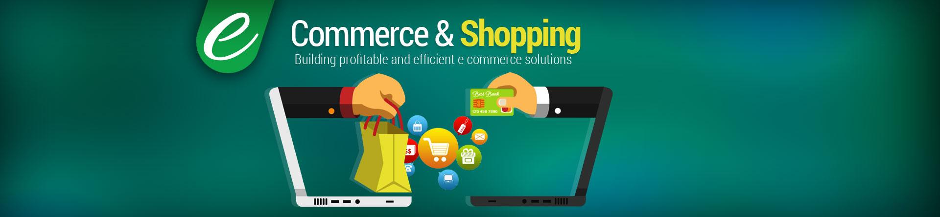 Banner design for e commerce - Ecommerce Shopping Web Solutions