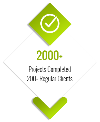 Projects Completed 200+ Regular Clients