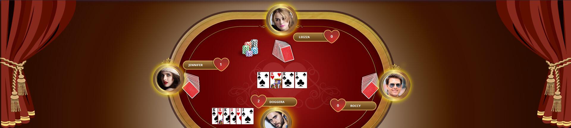 Hearts Card Game Development Company USA, Hire Hearts