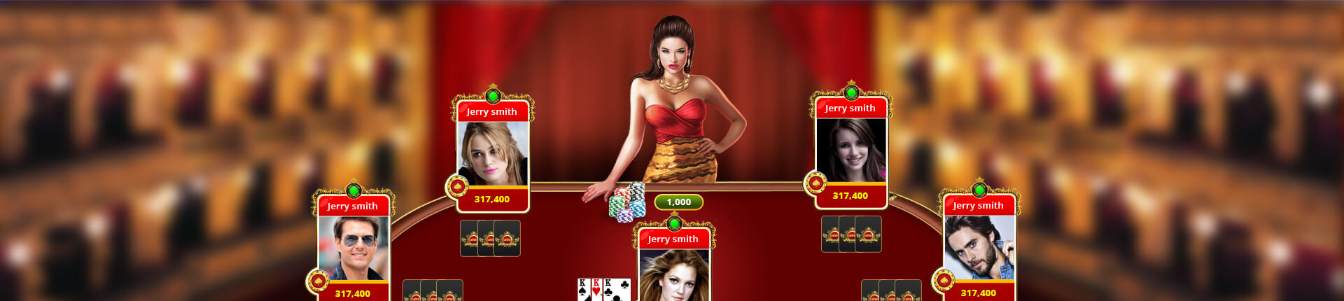 Teen Patti Card Game Development