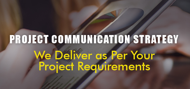 Project communication strategy