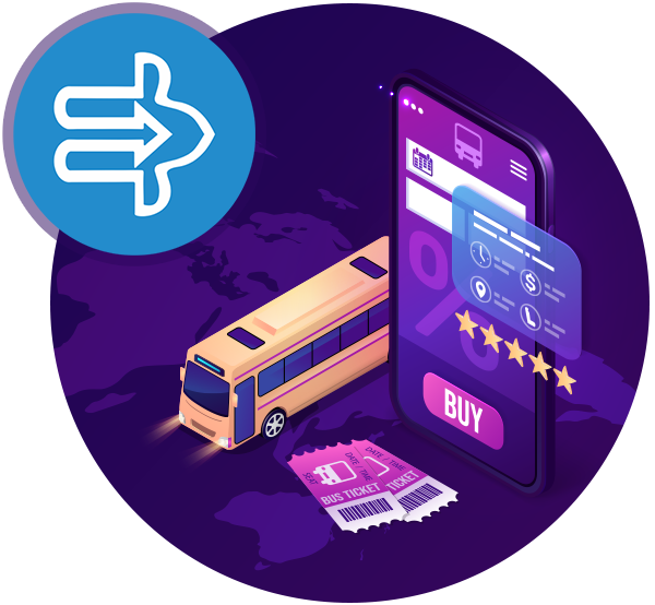 Online bus booking web application