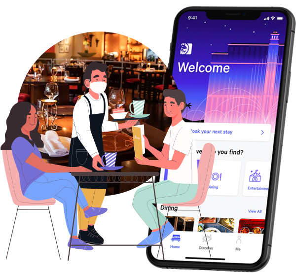 online restaurant table booking application
