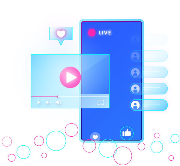 video streaming platform meant for smartphone users