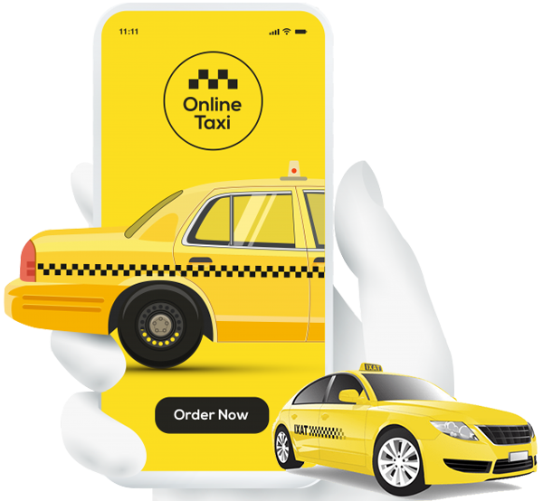 On-demand taxi booking application